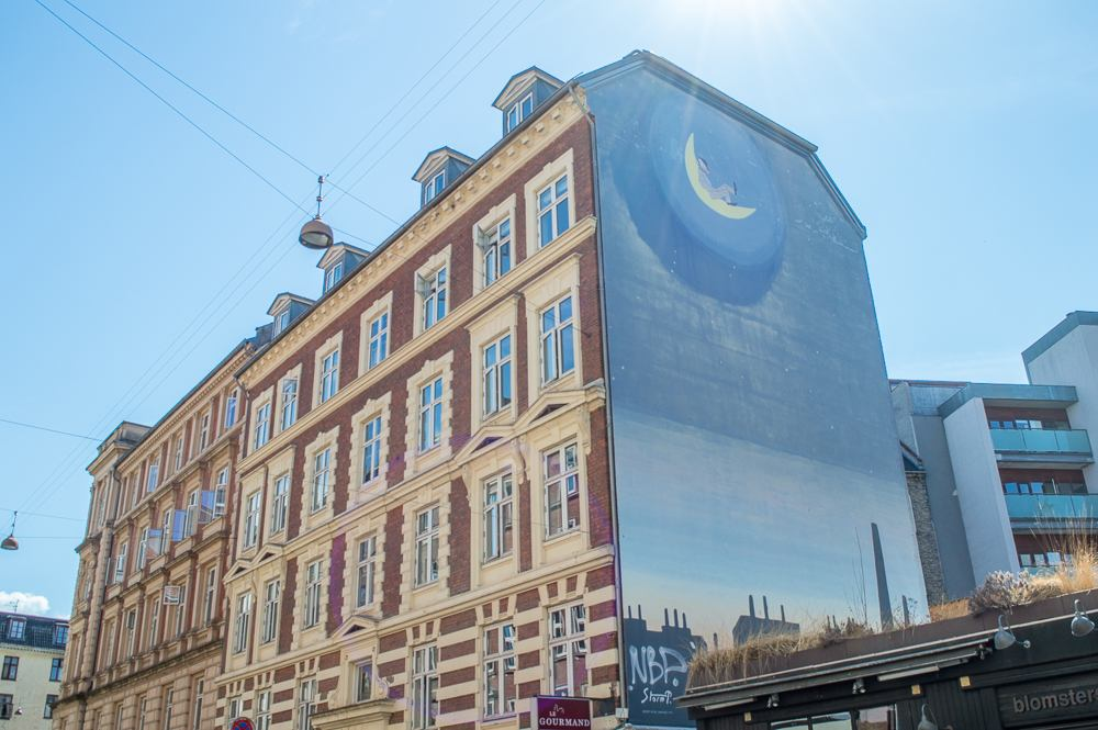 An example of Copenhagen Street Art on Værnedamsvej.