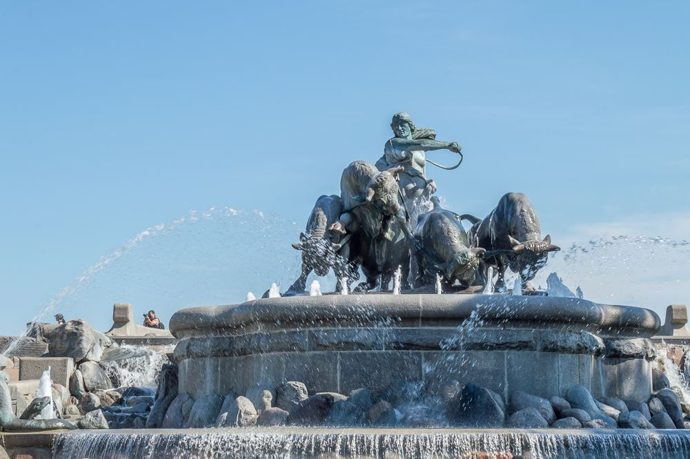 Gefion fountain in Copenhagen is widely considered one of the most beautiful fountains in Europe.