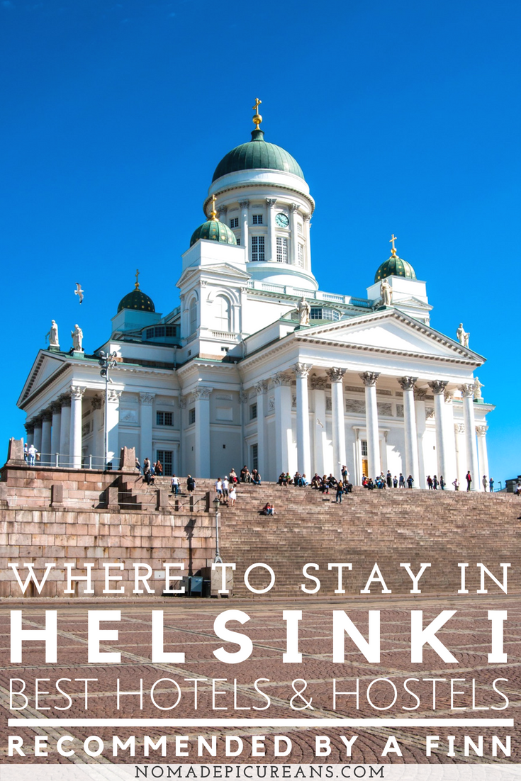 Not sure where to stay in Helsinki, Finland? We have compiled a list of the best hostels and hotels in Helsinki for all budgets. #travel #finland #helsinki