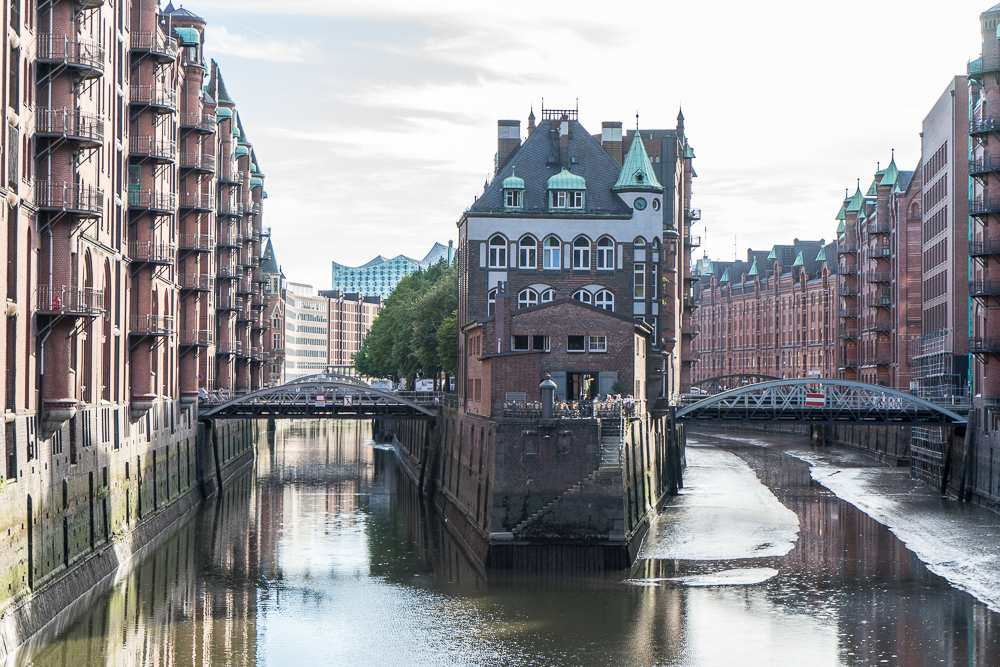 Speicherstadt is a definite must-see in Hamburg as one of Hamburg's most important sights.