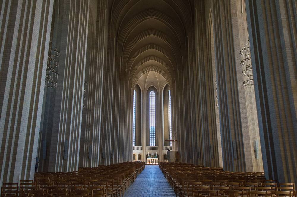 Grundtvig's Church is a hidden gem you can only explore if you have 3 days in Copenhagen.