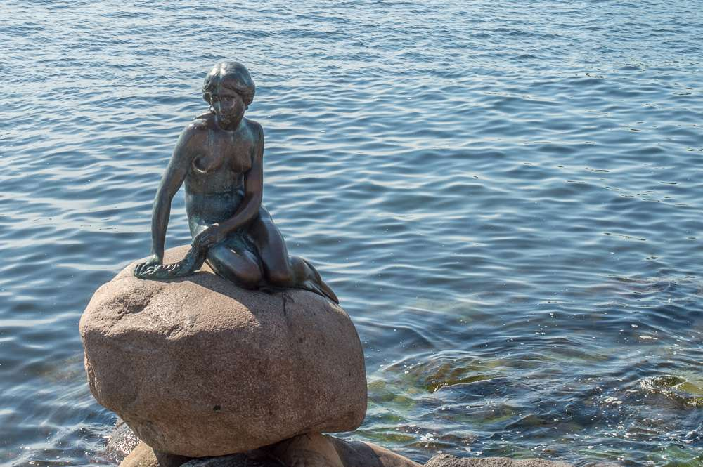 Even if you are only visiting Copenhagen for the weekend, you have to see the Little Mermaid statue.