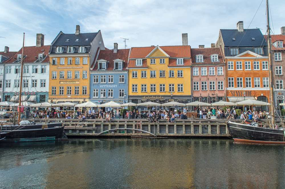 Nyhavn is iconic and a must-see during your 72 hours in Copenhagen.