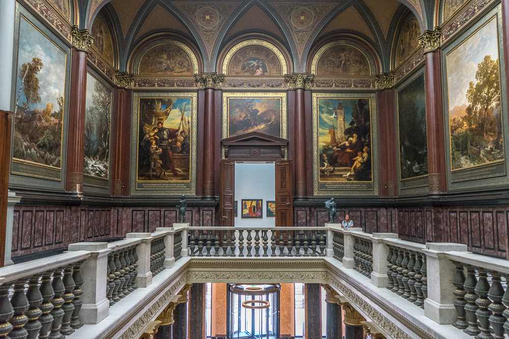 Hamburg's Kunsthalle is one of Europe's best art museums.