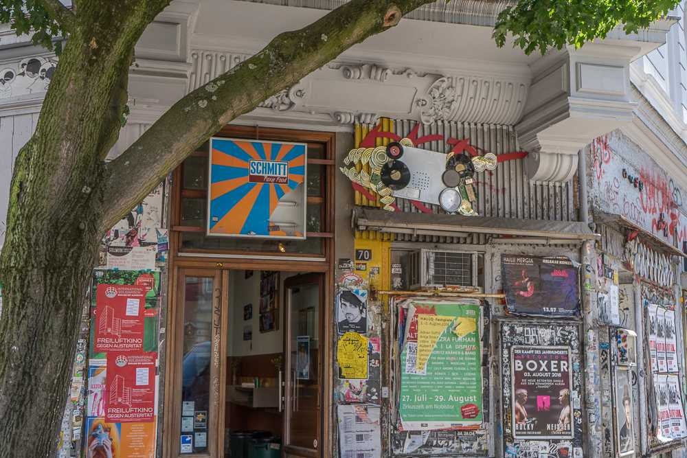 Sternschanze is well known for its cafes and boutiques. Make sure to check it out if you have 3 days in Hamburg!