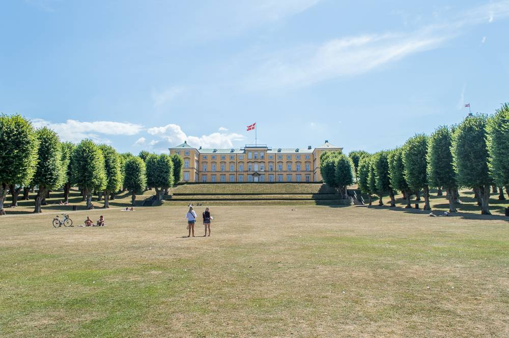 Frederiksberg Palace and its gardens are a perfect destination for a stroll in Copenhagen.