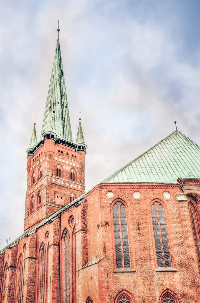 Things to do in Lübeck - The magnificent red-brick St. Peter's Church (St. Petri Kirche)
