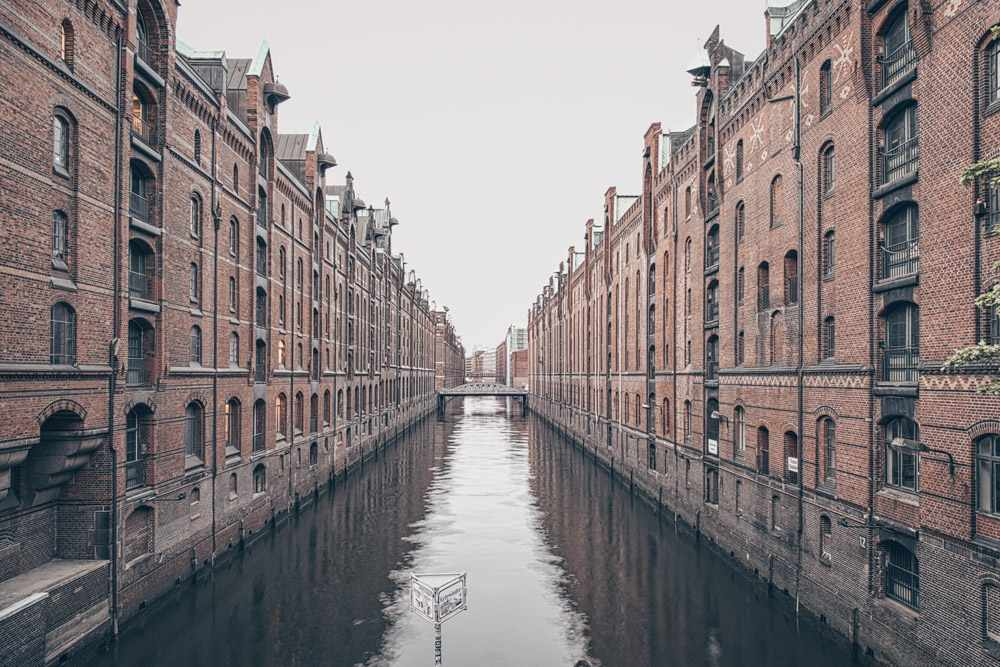 Weekend in Hamburg - The famous red-brick warehouses in Speicherstadt