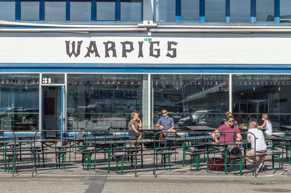 Warpigs in Copenhagen's Kodby neighborhood is one of the best places for dinner in Copenhagen.