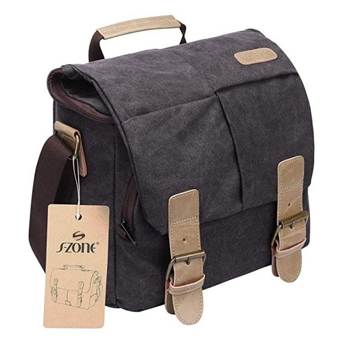 This bag will carry your camera and everything else.