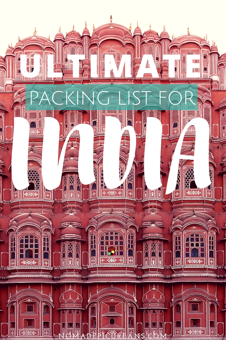 The realest India packing list for women on the internet. This is a no BS guide on what to pack for India as a woman, full of practical tips and more! #travel #india #packinglist