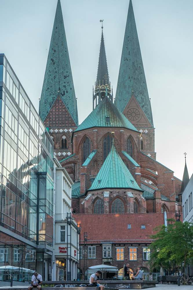St. Mary's Church is one of Lubeck's most notable landmarks.