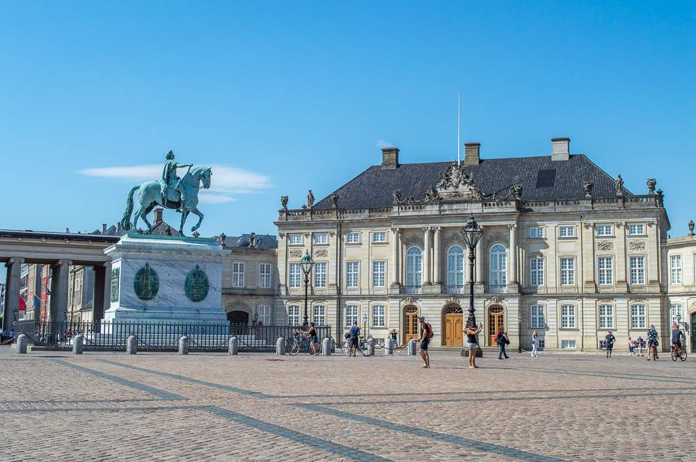 Amalienborg Palace is one place you have to see during your 3 days in Copenhagen.