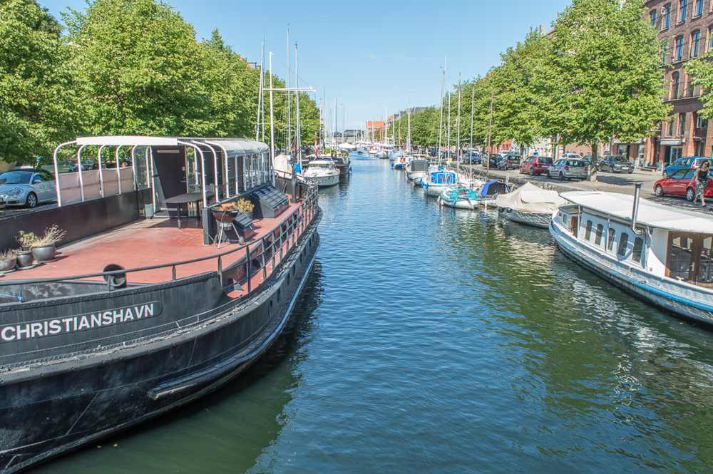 Christianshavn is a great neighborhood to visit during your weekend in Copenhagen.
