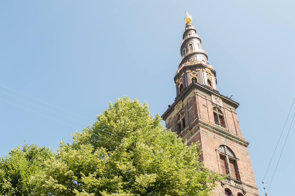 Climb the tower of Church of Our Savior and you'll be rewarded with one of the best views of Copenhagen.