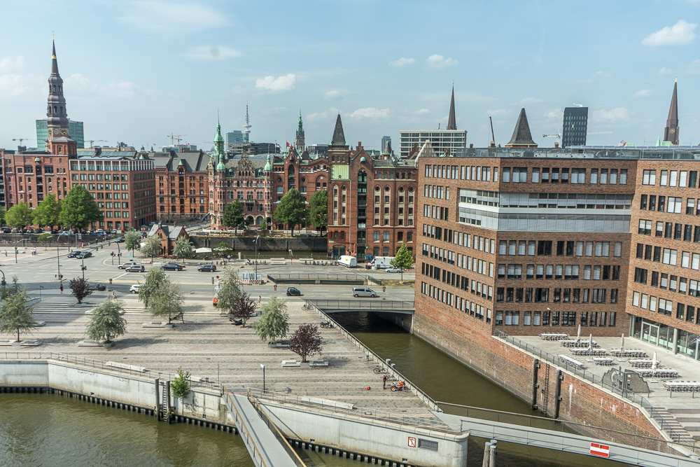 HafenCity in Hamburg is an exciting mix of old and new and definitely worth checking out during a long weekend in Hamburg.