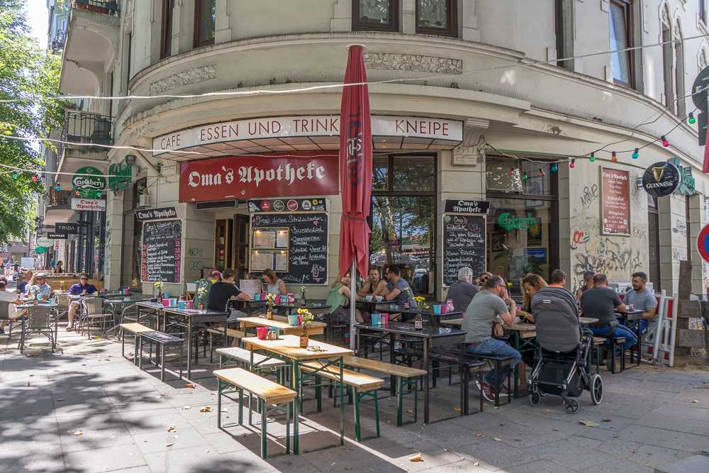 Sternschanze is the perfect neighborhood to get a drink during a long weekend in Hamburg.