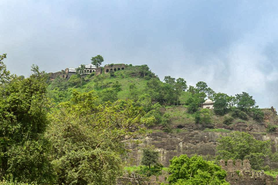 Daulatabad Fort is one of the best places to see in Aurangabad.