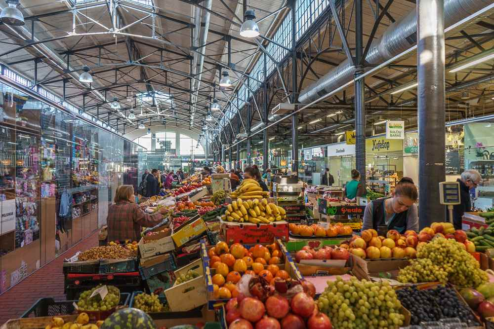 An early-morning visit to Hales Market is one of the best things to do in Vilnius.