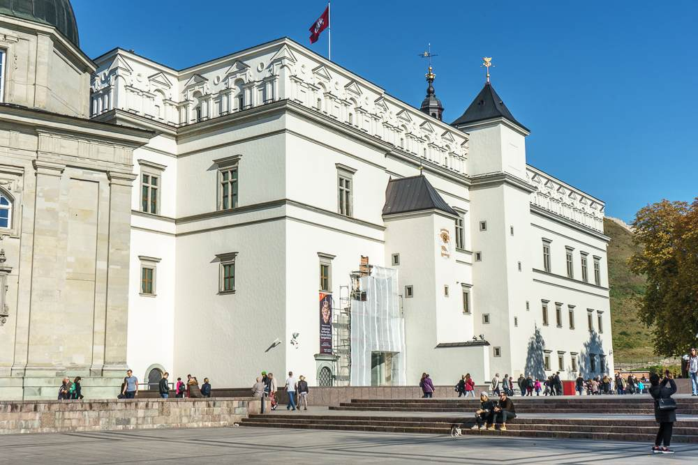 The Palace of the Grand Dukes of Lithuania is one of the top-attractions in Vilnius.