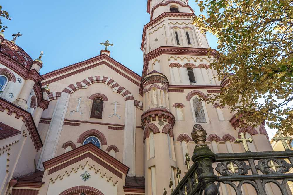 There are dozens of churches to be explored in Vilnius.