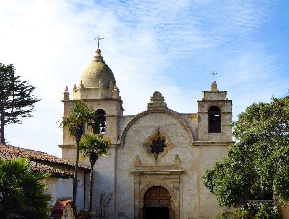 Spanish Colonial architecture can even be found in the USA, such as in Carmel, California.