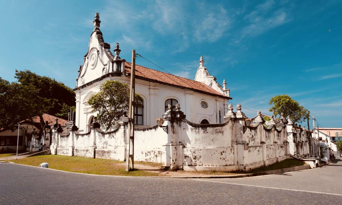 Galle, Sri Lanka is one of the best places to see Dutch Colonial Architecture.