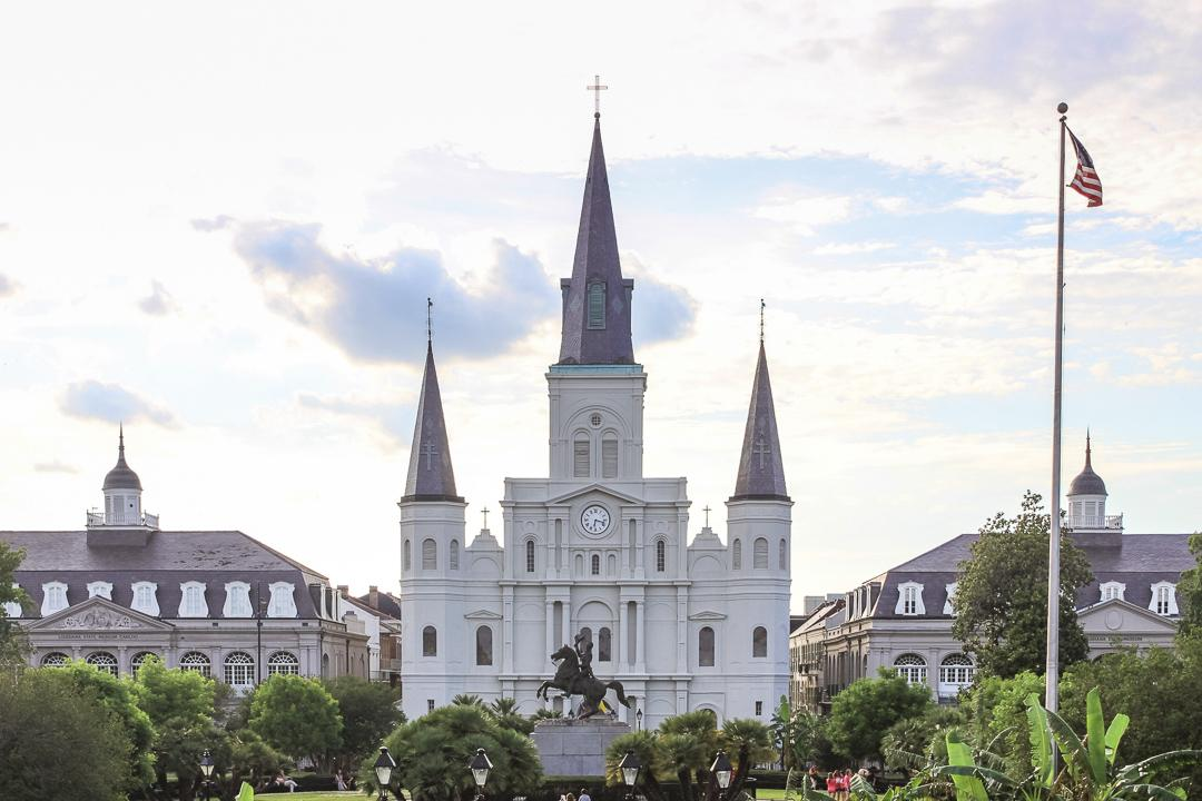 New Orleans is one of the best places to see French Colonial architecture in North America.