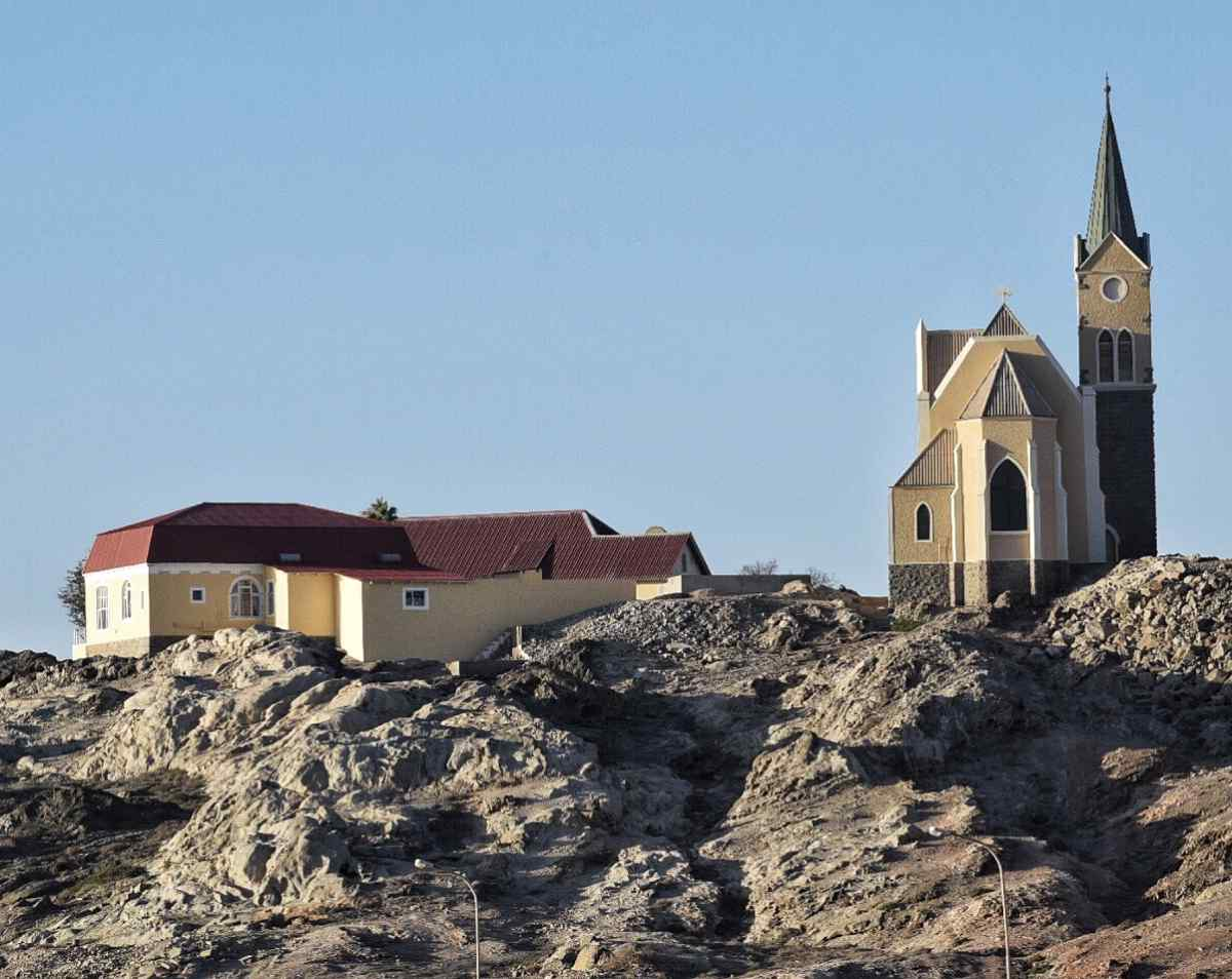 Luderitz, Namibia is one of the last places to see German Colonial architecture.