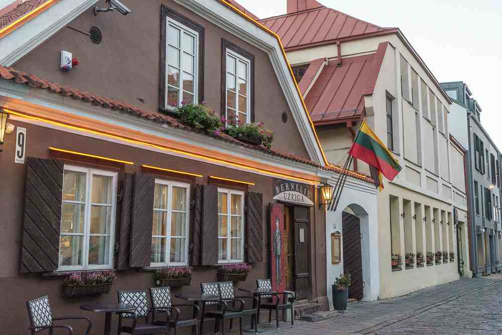 Don't forget to try some Lithuanian food on your visit to Kaunas!