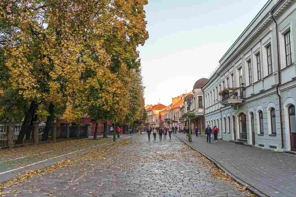 Kaunas Old Town is definitely a must see in Kaunas.