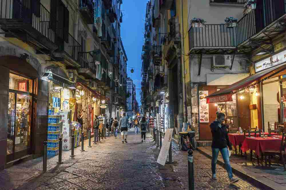 The historic center is one of the best things to see in Naples.