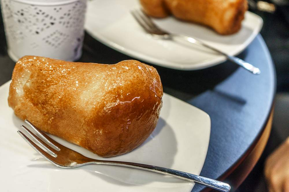 Don't forget to try a traditional baba in Naples!