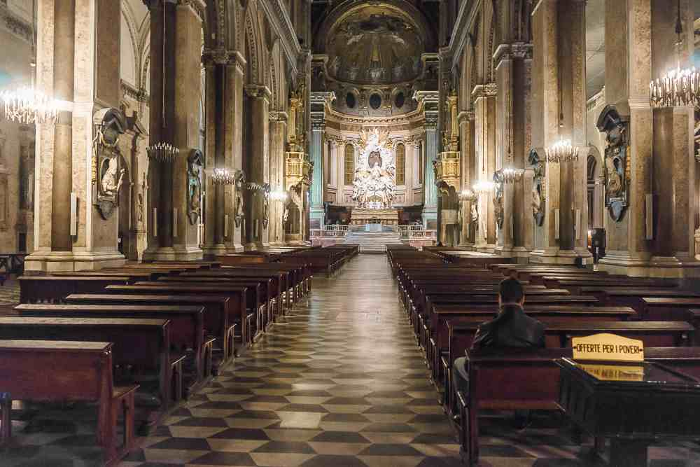 Naples cathedral is one of the best churches in Naples.