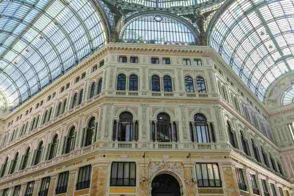 Galleria Umberto is the perfect day to snap an Instagram picture during your one day in Naples!