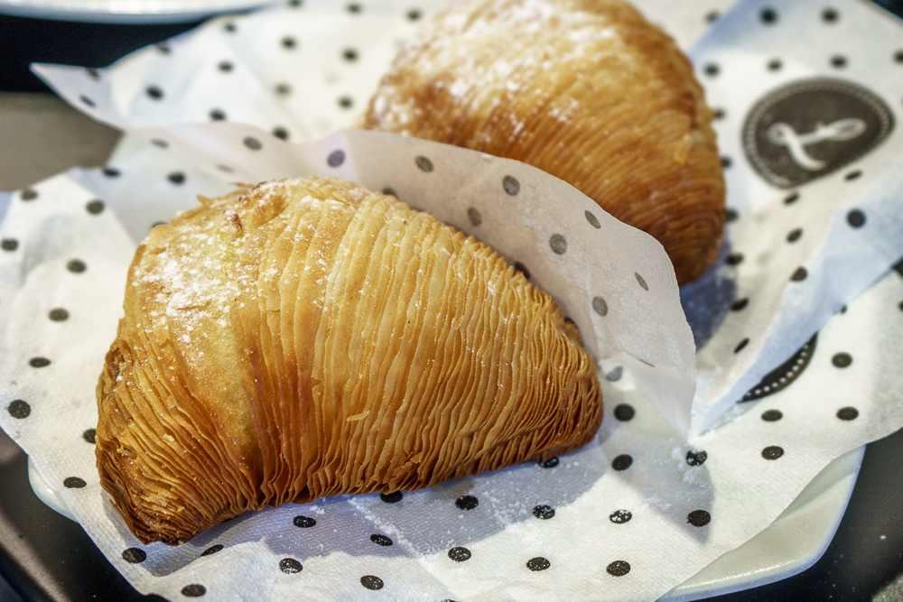 Sfogliatella is a traditional Neapolitan pastry.