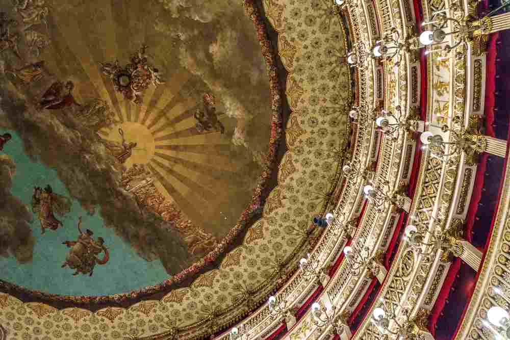 A tour of the San Carlo theater is one of the best things to do in Naples.