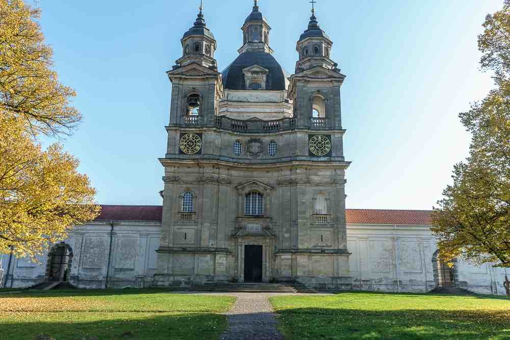 You cannot miss a visit to Pazaislis Monastery in Kaunas.