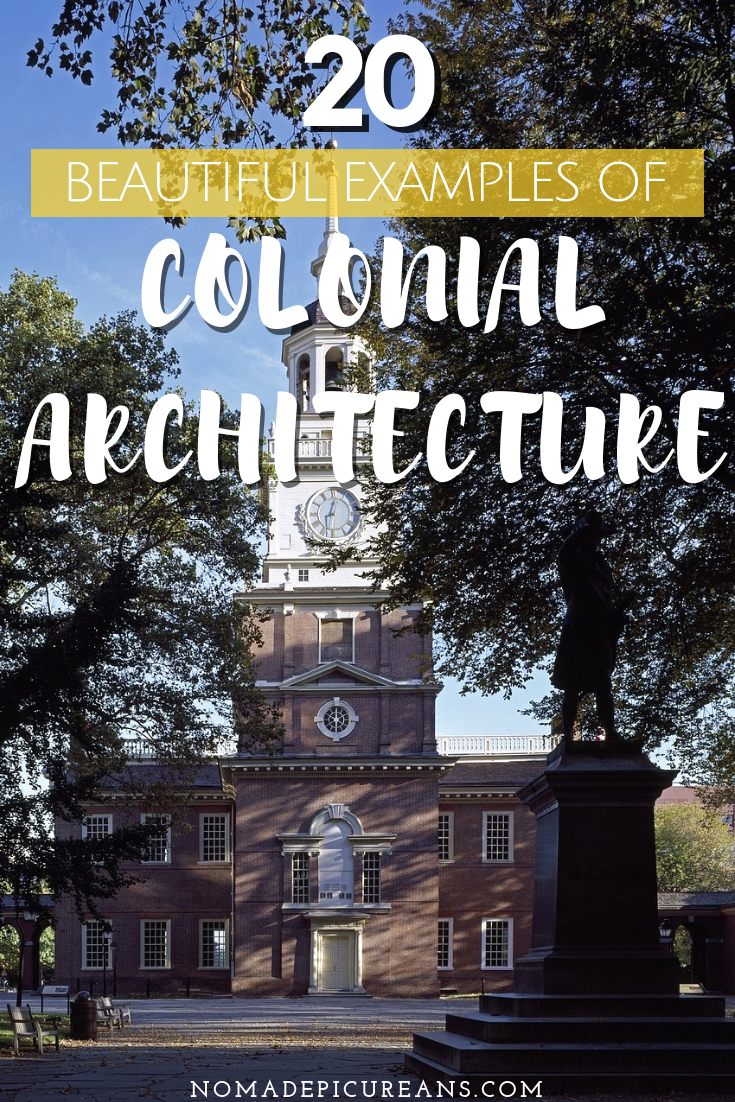 Do you love pretty buildings? Go on a hunt of the most beautiful colonial pieces around the world and learn more about colonial architecture. #travel