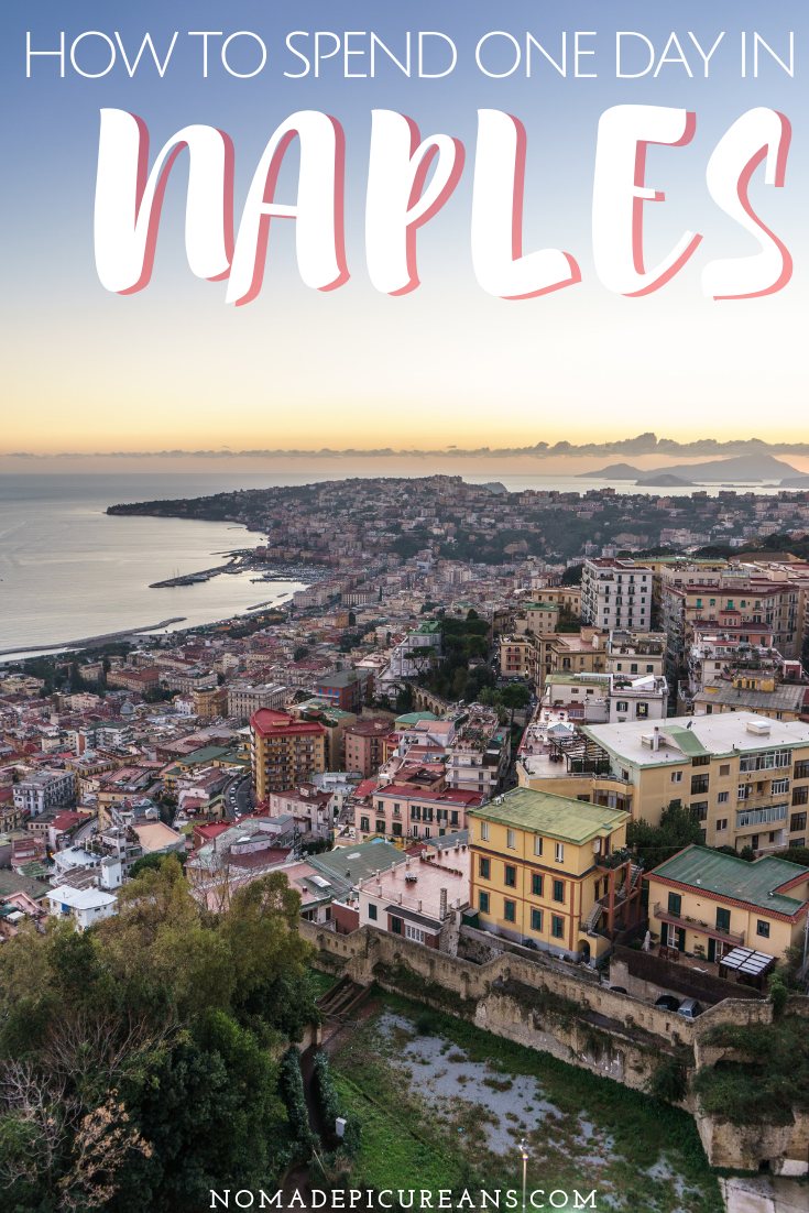 Only got one day in Naples? Check out our selection of the best things to do in Naples, Italy's most underrated city. Our top picks for pizza, art, and views! #travel #italy #naples
