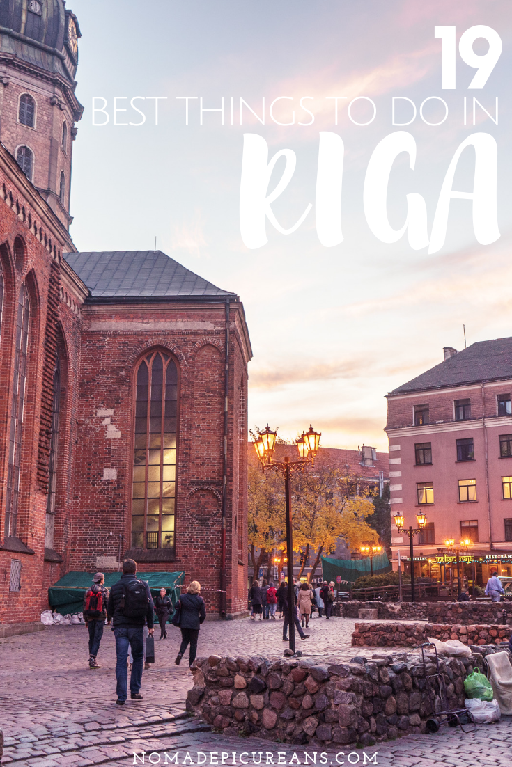 Not sure what to do on your first visit to Riga? Check out our list of the 19 best things to do in Riga, no matter if you love food, shopping, or culture! #travel #latvia