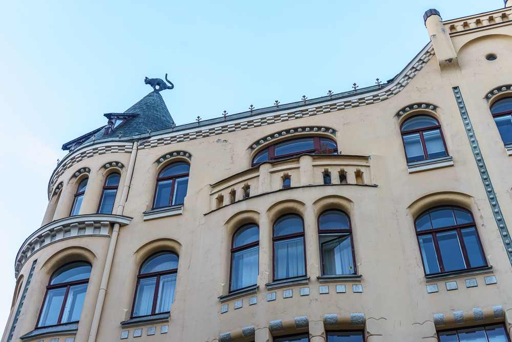 The cat house is one of Riga's top attractions.