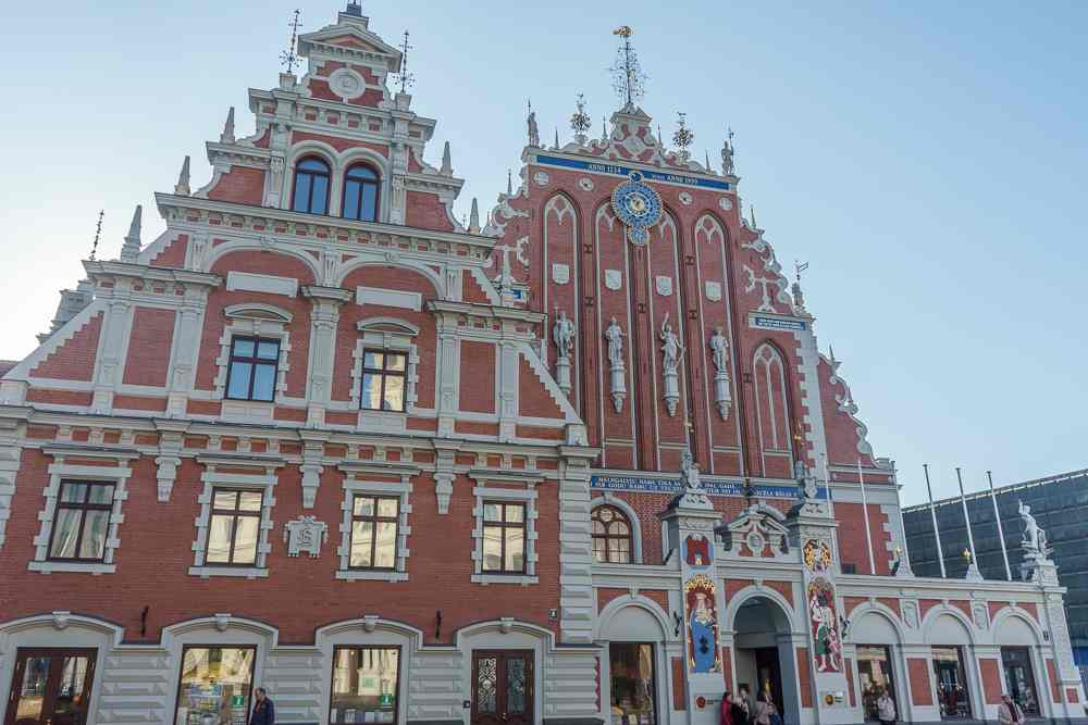 The House of Blackheads is Riga's most iconic landmarks.