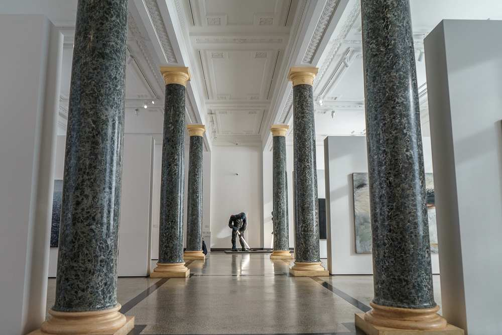 The Latvian National Museum of Art is one of the best museums in Riga.