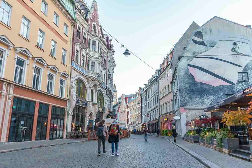 Riga's Old Town is one of the best things to see in Riga.