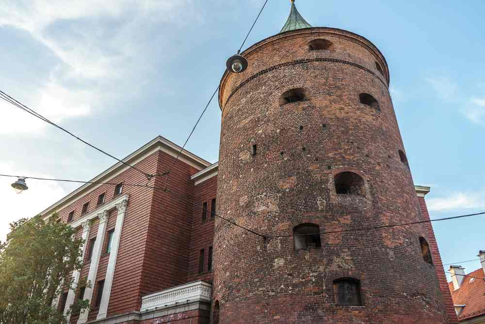 The powder tower is one of Riga's must-see attractions.