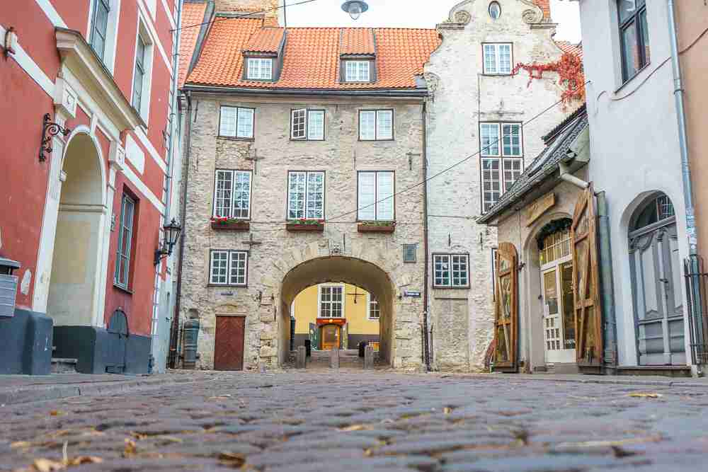 The Swedish Gate is one of the top attractions in Riga.