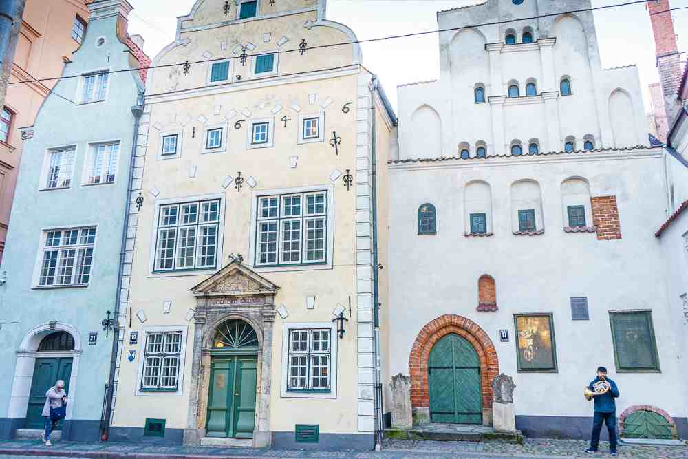 The Three Brothers are some of Riga's top sights.