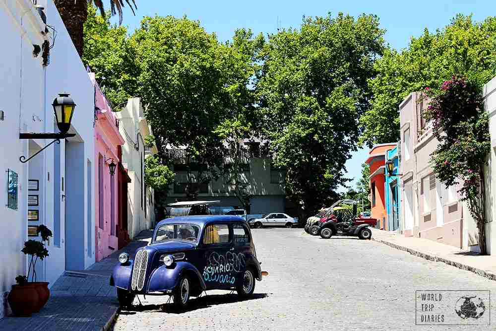 Spanish Colonial architecture can be found all throughout South America, such as in Uruguay.