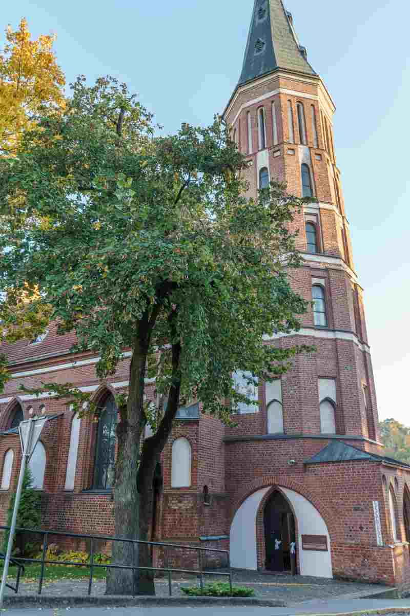 A stroll around Vytautas church is the perfect way to relax during your visit to Kaunas.